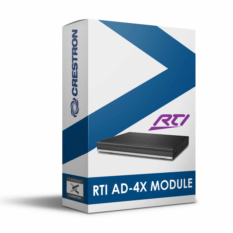 RTI AD-4x Module for Crestron