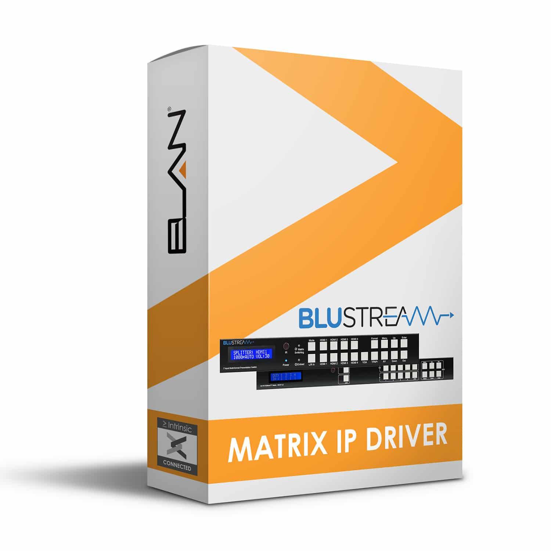 Blustream IP Matrix driver for Elan